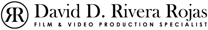 David D. Rivera Rojas   Professional Film and Video Production Specialist   Editing • Cinematography • Consultancy   Watch your story on the screen!   Available for Hire Worldwide • Freelance   davidriverafilm